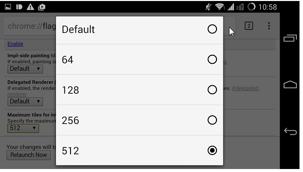 google chrome for android features 2