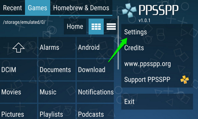 play psp games android 1