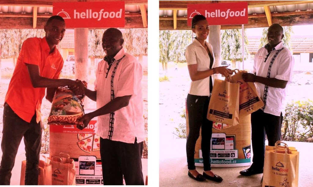 Hellofood Côte d'Ivoire converts facebook comments into food to fight hunger