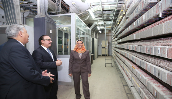 Egypt's ICT Minister Inaugurates Development & Modernization of Centrals of Smoutha & Burg El Arab