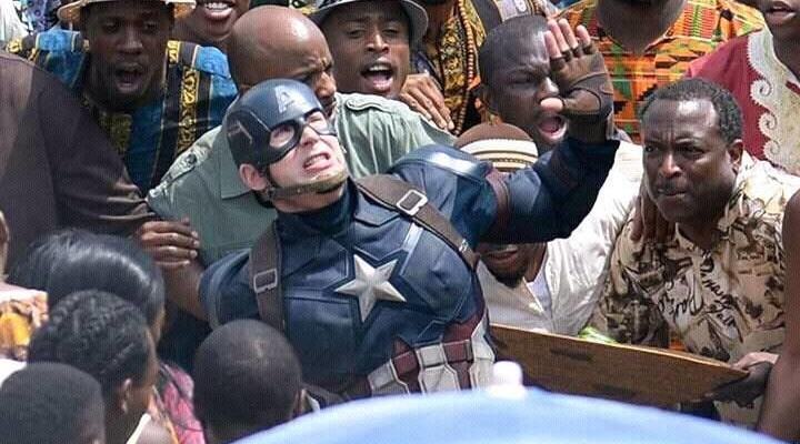 #CaptainAmericaInNigeria What Problems Do You Think He'll Solve In Lagos, Abuja?