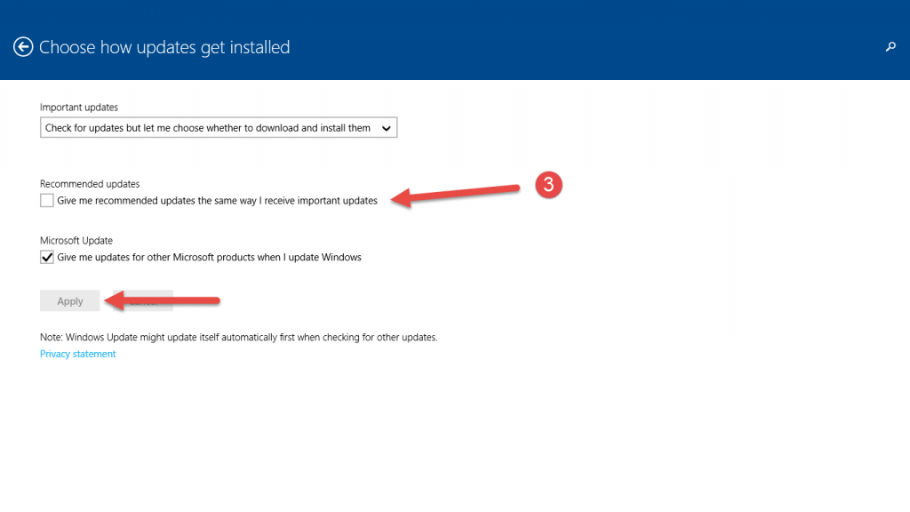 avoid forced upgrade to windows 10 5