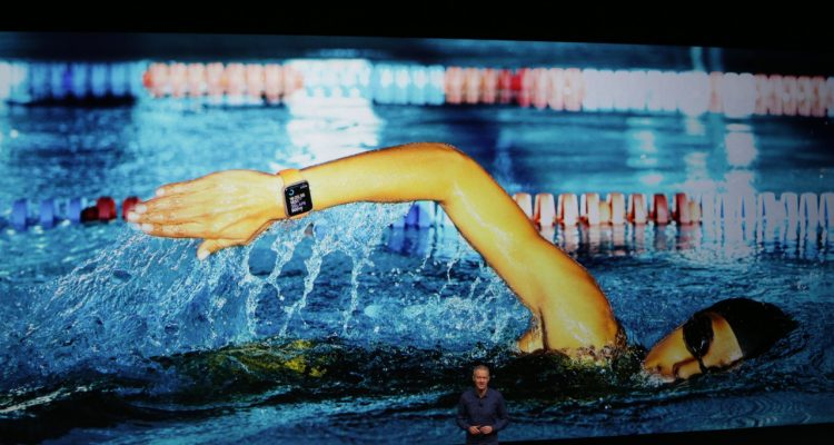 About the Apple Watch Series 2 unveiled at the #AppleEvent; it's Water and Splash Proof