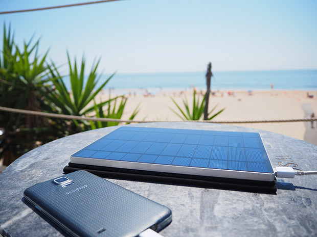 Solartab® C, the World's first Solar Charger with USB-C now on Indiegogo