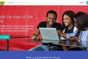 Google launched e-learning portal to teach Africans Digital Skills