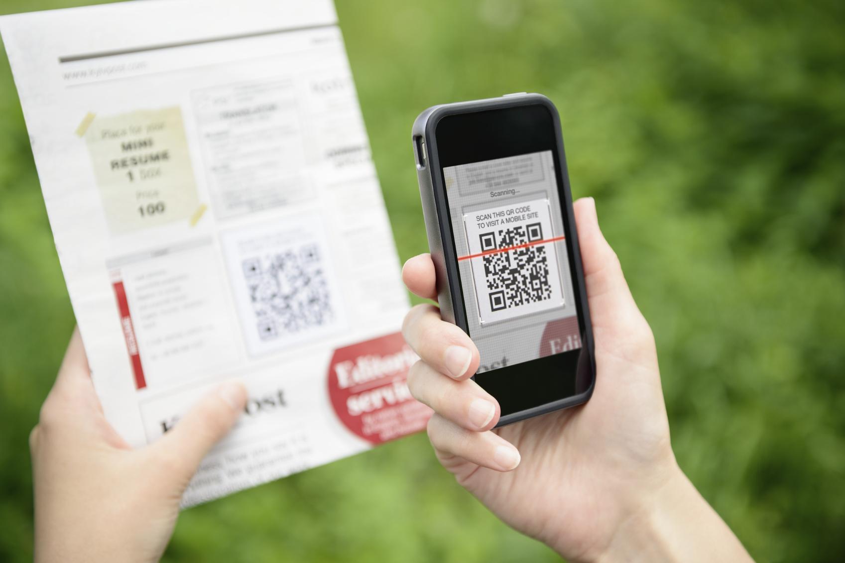 Qr Code Scannen Smartphone