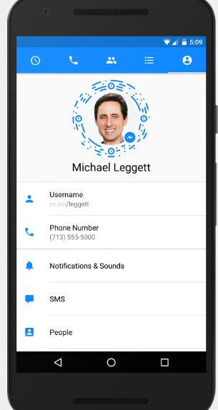 Messenger profile picture not updating