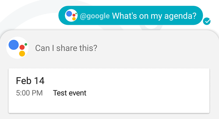 Google Allo can now share your Personal Data if you let it