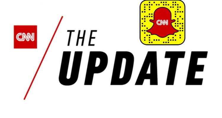 the update cnn snapchat