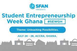 #SEWGH Page Cover Flyer Major Players to discuss Entrepreneurship at Student Entrepreneurship Week Ghana