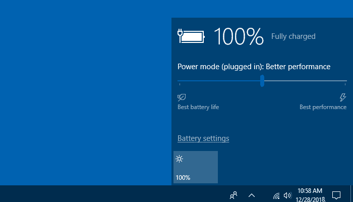 Fix Missing Battery Icon on your Windows 10 Taskbar