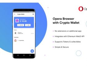Opera pulls yet another first, A Browser with in-built Cryptocurrency Wallet