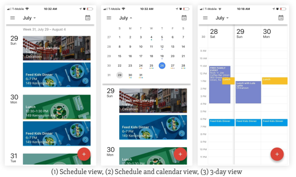 The top five Calendar Apps for your iPhone
