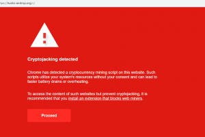 Chrome Web Store distributed a malicious Extension that was stealing Cryptocurrency