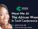 Wamide Egunjobi a speaker at talks about the Gender Disparity in Tech | #AWITNigeria19