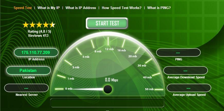 internet speed 6