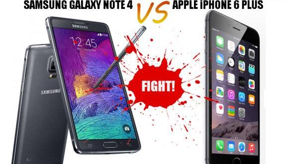 Phablets FaceOff: Apple iPhone 6 Plus Vs Samsung Galaxy Note 4