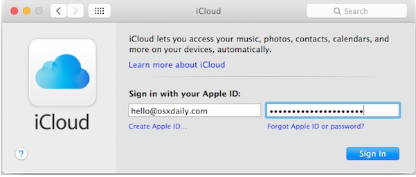 How to Change an Apple ID and iCloud