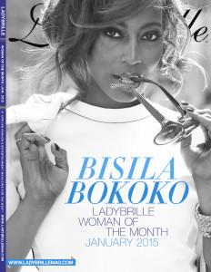 Philanthropist Bisila Bokoko is Ladybrille Woman of the Month, January 2015