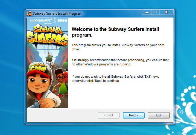 download subway surfers for windows 7 and 8