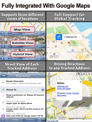 GPS Phone Tracker for iPhone and iPad