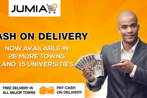"Jumia expands ""Pay on delivery"" to 26 more towns and 15 universities"