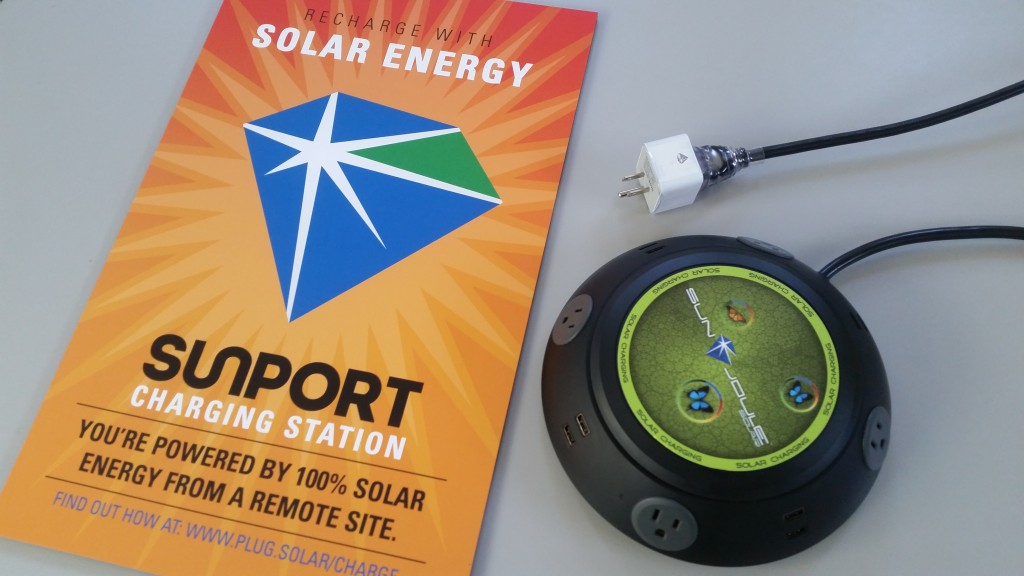 Flying Star Installs Solar Charging Outlets At Selected Locations