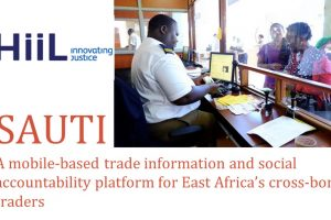 Sauti, winners of #AWITKenya pitch competition shortlisted in HiiL Innovating Justice SMEs Empowerment Challenge