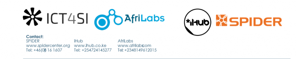 AfriLabs and ICT 4 Social Innovation Network