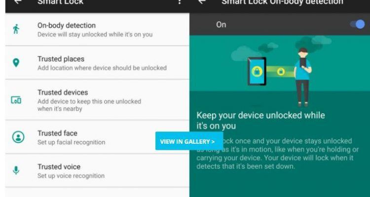 Smart Lock Android 7