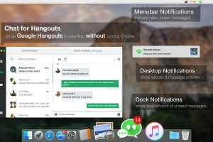 messages notification macOS Dock