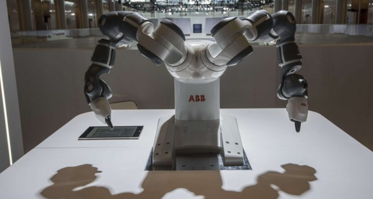 ABB's $150 million factory in China where Robots are building other bots