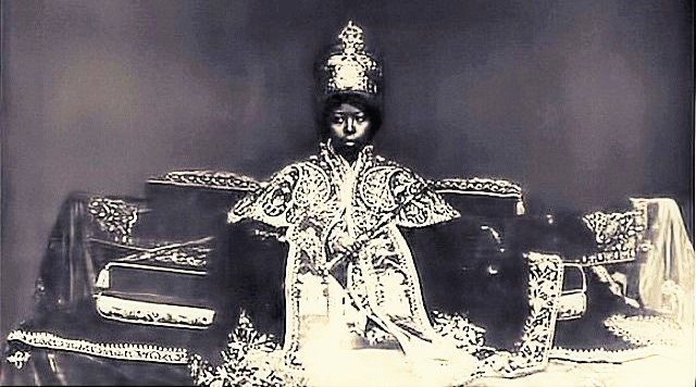 Empress Zewditu, the first Female Head of State of the Ethiopian