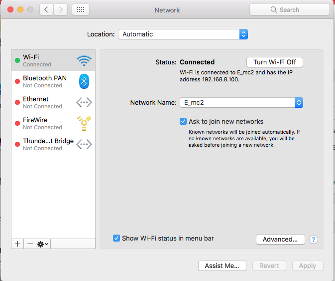 How to forget a Wi-Fi Network on a Mac computer