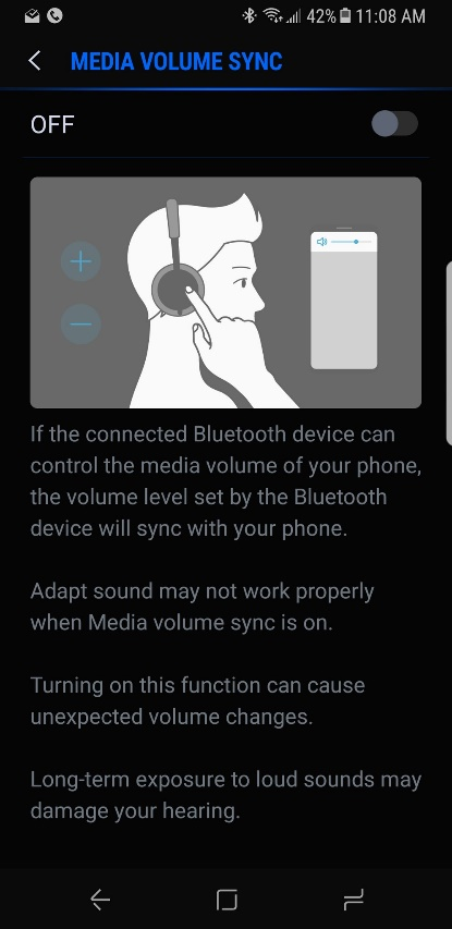Fix Bluetooth Volume Extremely Low in Samsung Galaxy S8
