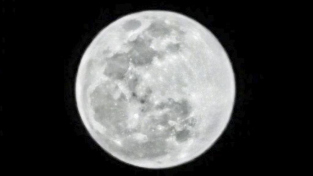 Huawei Moon Mode shot | Credit Huawei