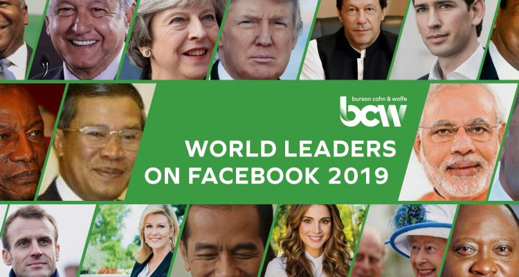 world leaders on facebook 2019