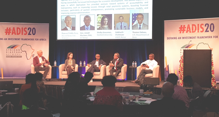 ADIS20 Investors Entrepreneurs Discuss African Investment in The Heart of Silicon Valley